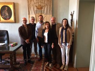 Rappresentanti del Comune di Saluzzo incontrano i referenti dell'Associazione dei Piemontesi di
