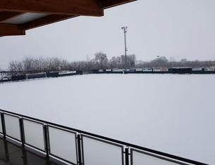 Calcio - Gelo e neve fermano il pallone, rinviata Saluzzo-Pro Dronero