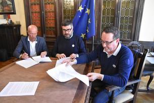 Firmata la convenzione Porte di Valle - Terres Monviso