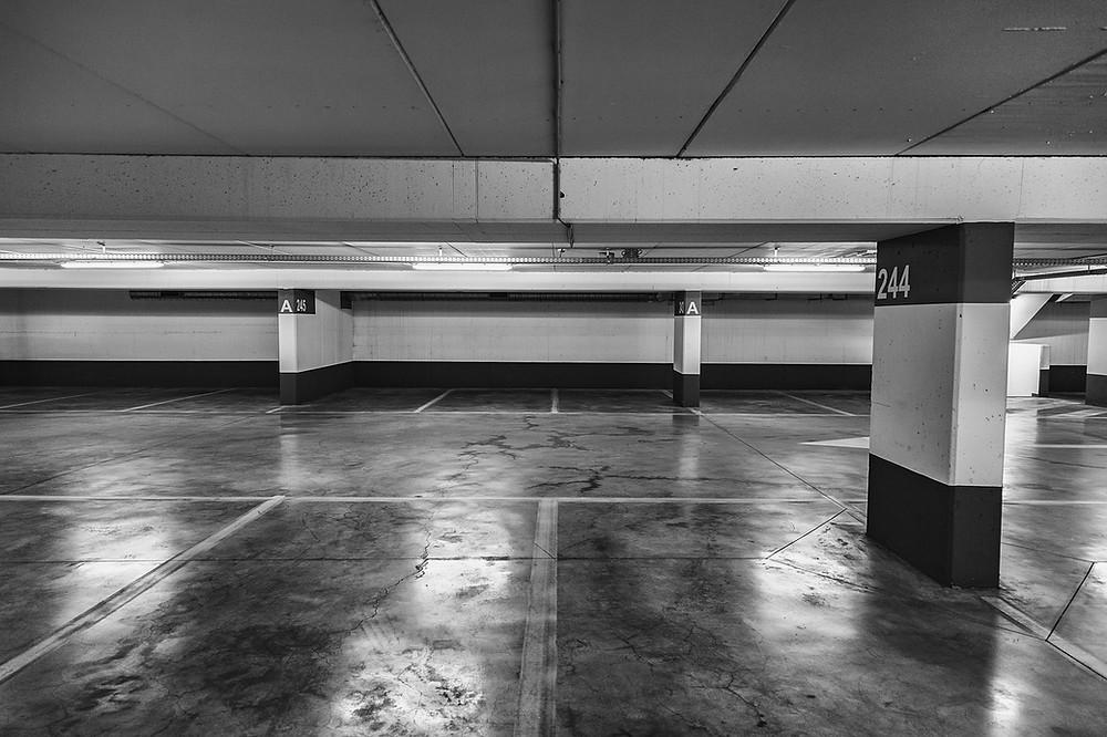 DAL Flood Parking Garage
