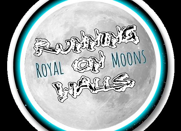 "Royal Moons 2.25"" Button"