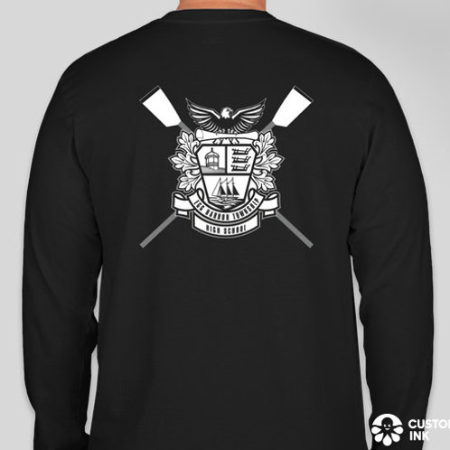 NEW! School Crest Long Sleeve T-Shirt