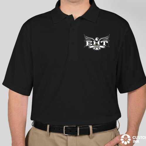 Polo Shirt, Short Sleeve, black