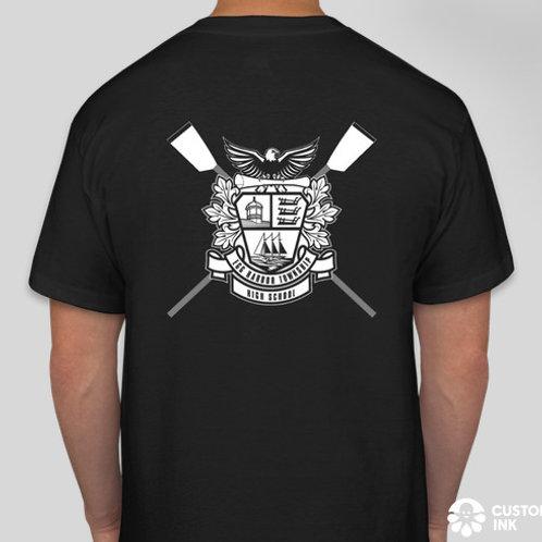 NEW! School Crest SS T-Shirt, Black