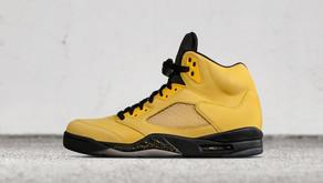 """Air Jordan 5 """"Fab Five"""" de Michigan"""