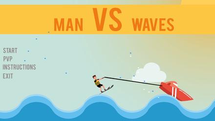 Man VS Waves