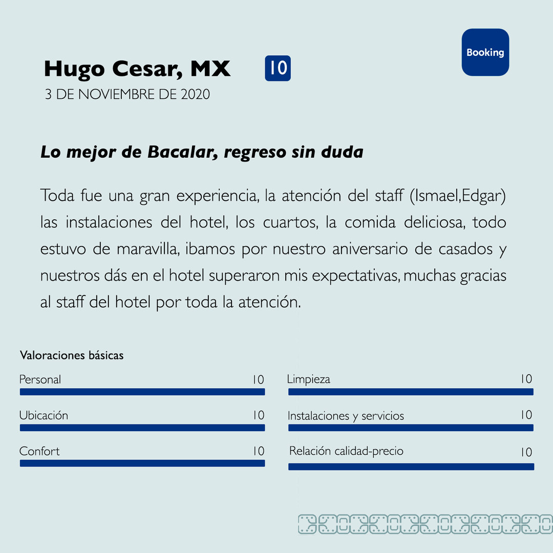 Hugo Cesar Booking