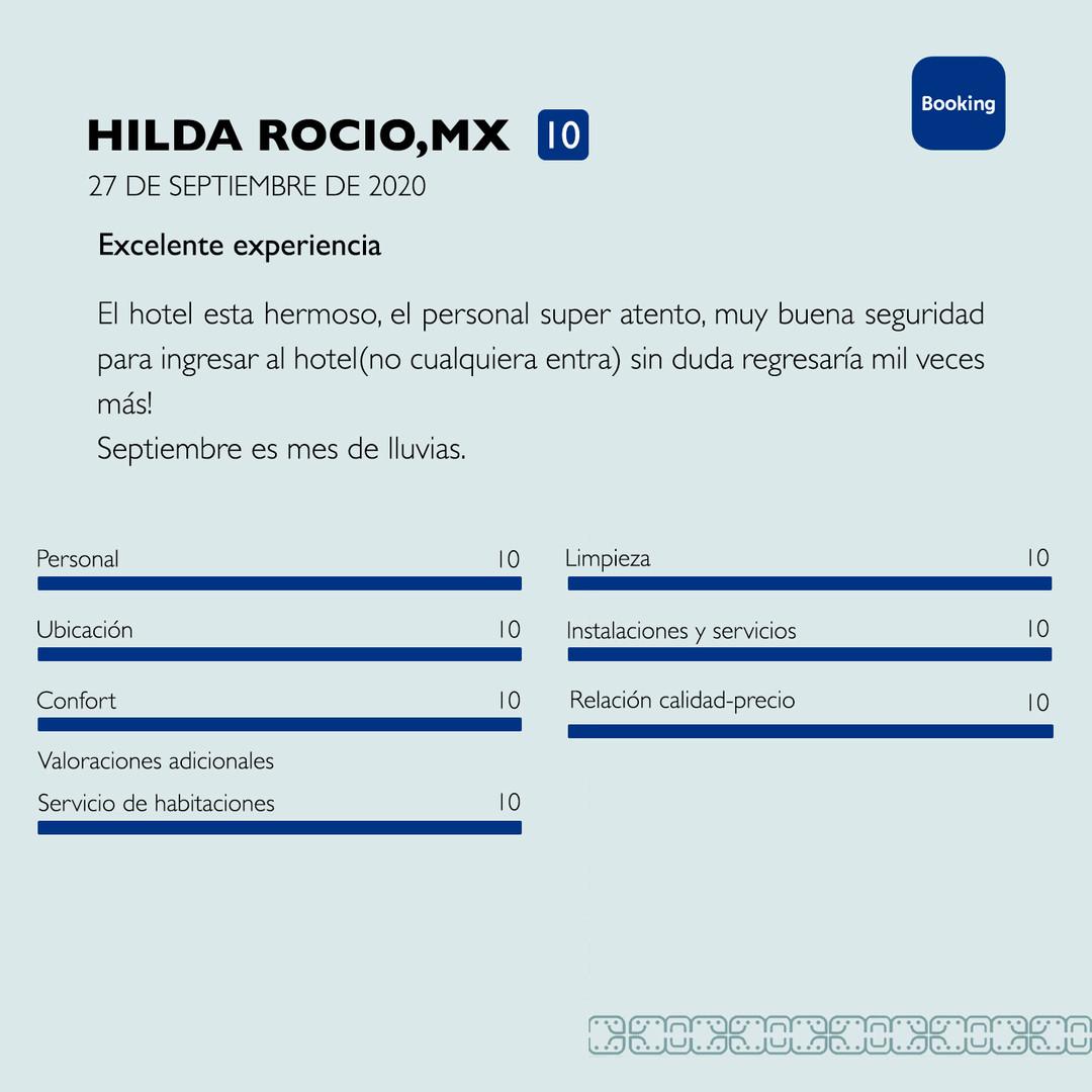 Hilda Booking