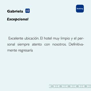 Gabriela Booking