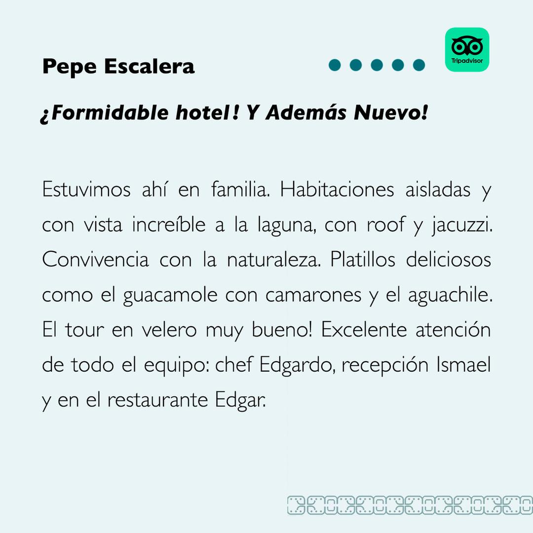 Pepe Escalera TripAdvisor