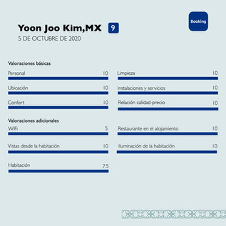 Yoon Joo Booking