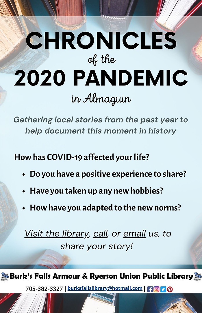 Chronicles of the 2020 Pandemic in Almag