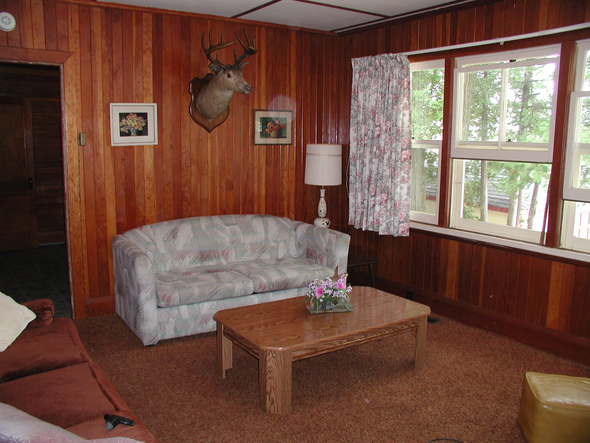 Cottage #1 Living Room