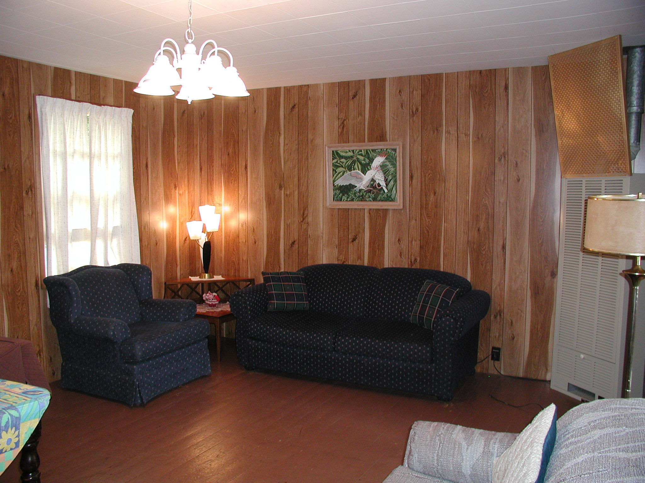Cottage #8 Living Room