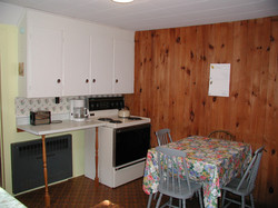 Cottage #6 Kitchen