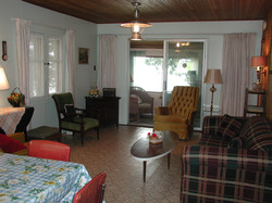 Cottage #10 Living Room