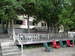 #3 & #4 Cottage deck
