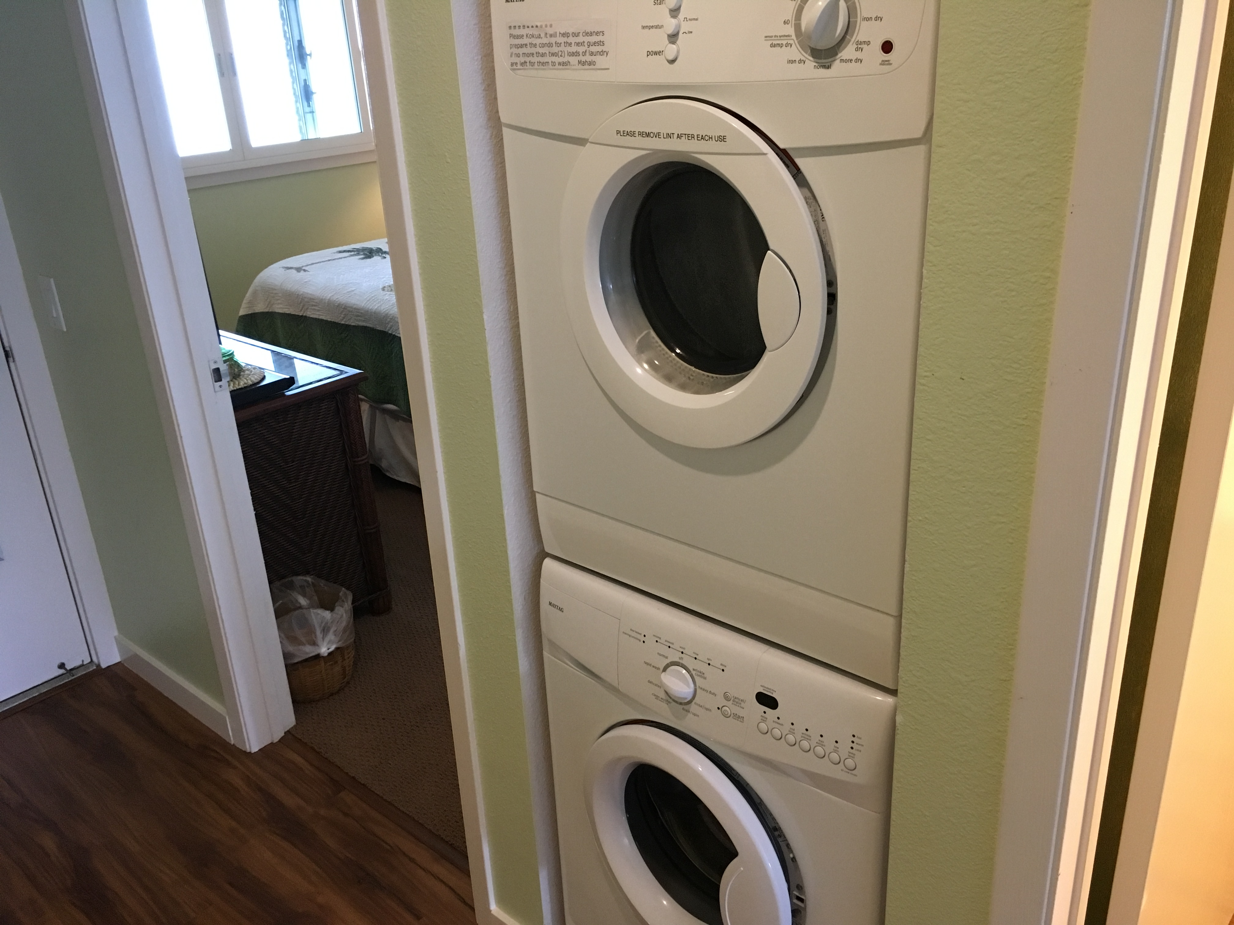 Washer/Dryer - Condo 304