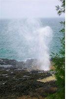 """Spouting Horn, Kauai's """"Old Faithful"""""""