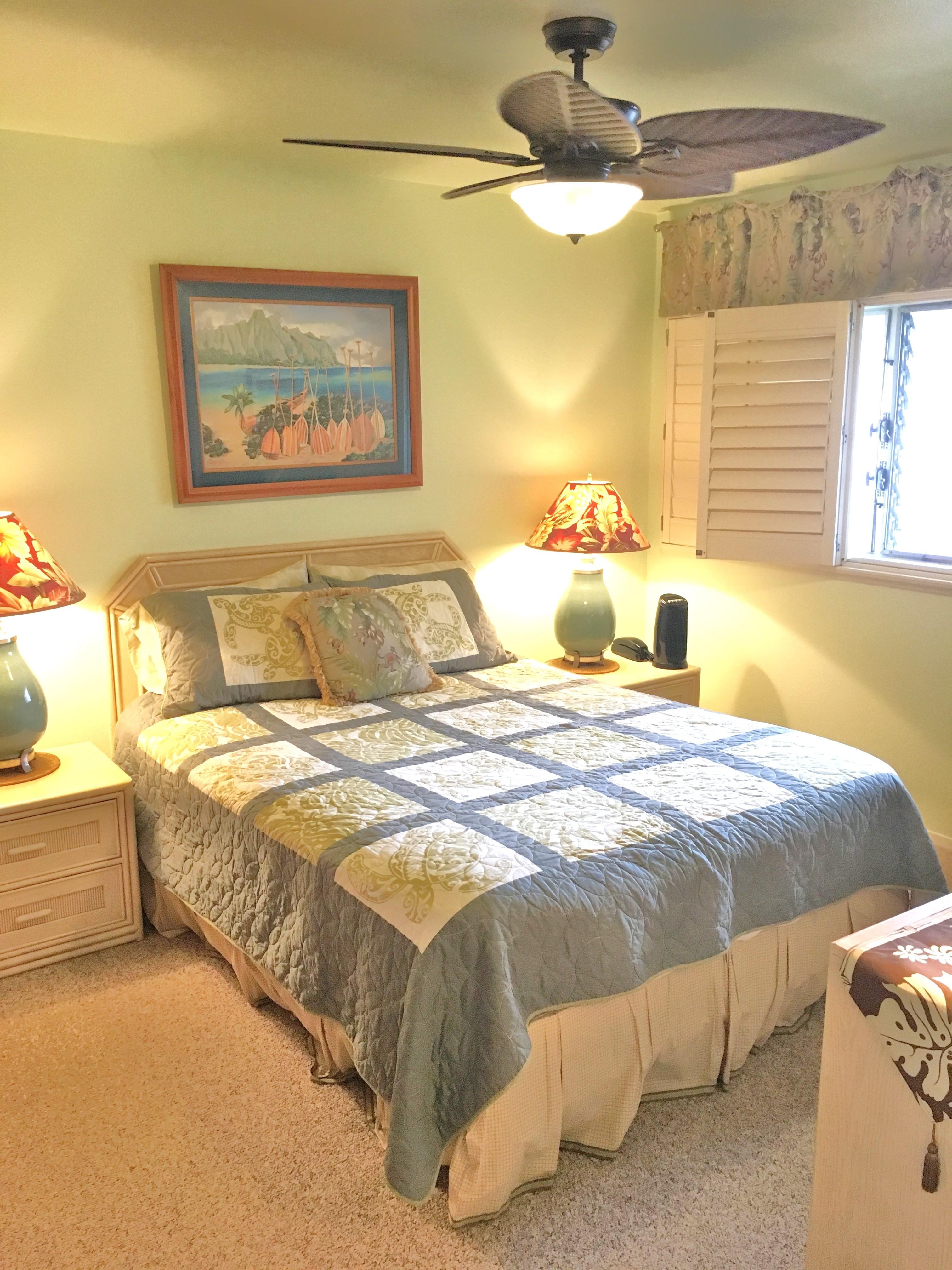 Wailua Bay View 107 bedroom bed