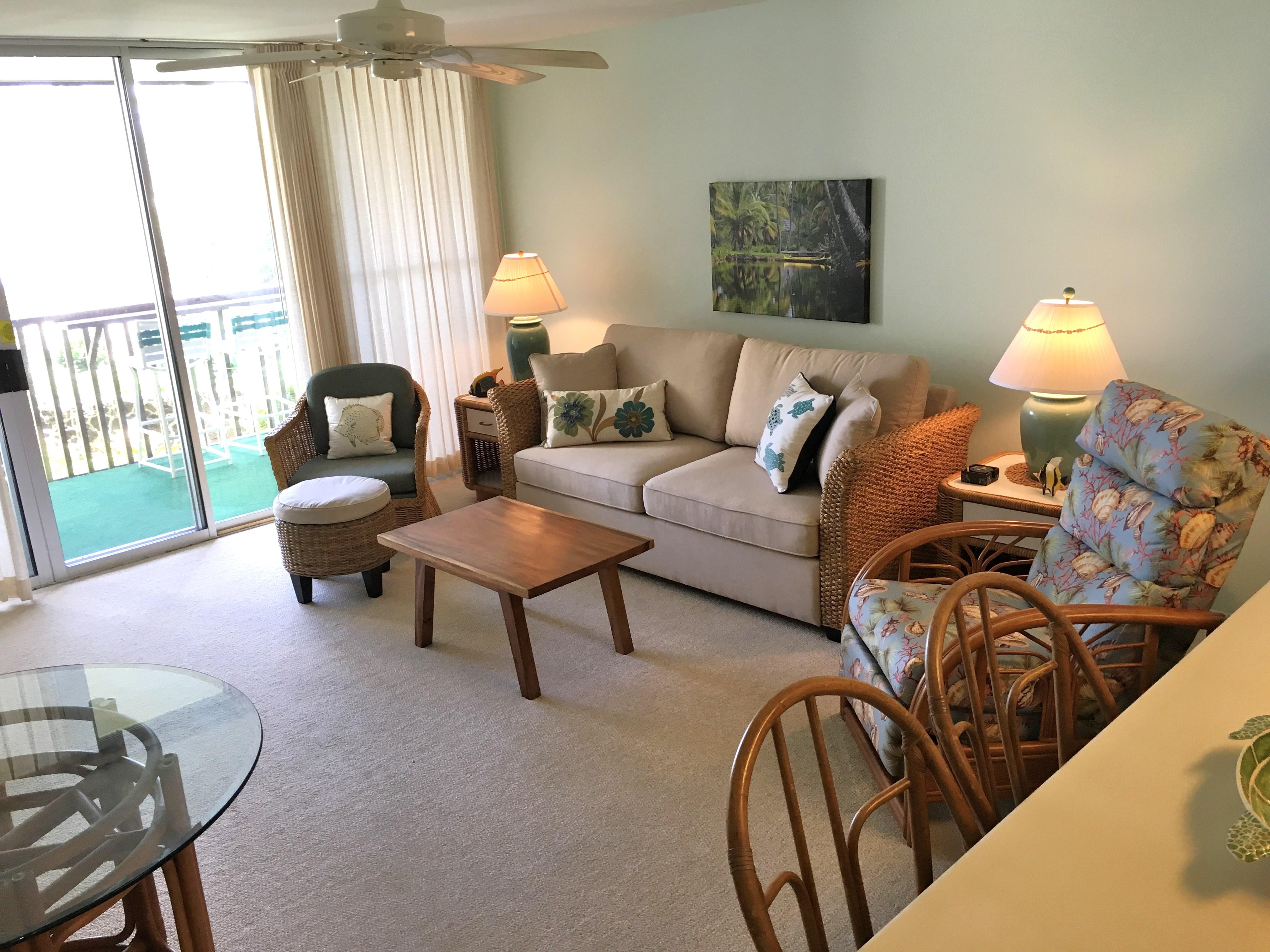 Wailua Bay View 103 couch
