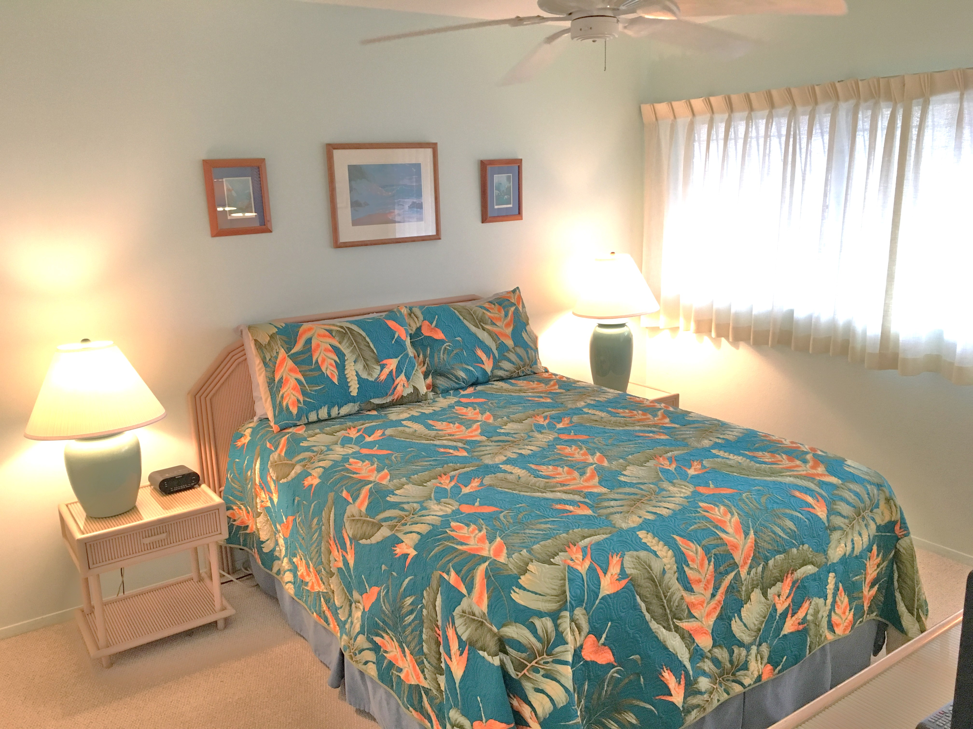 Bedroom at Wailua Bay View 103