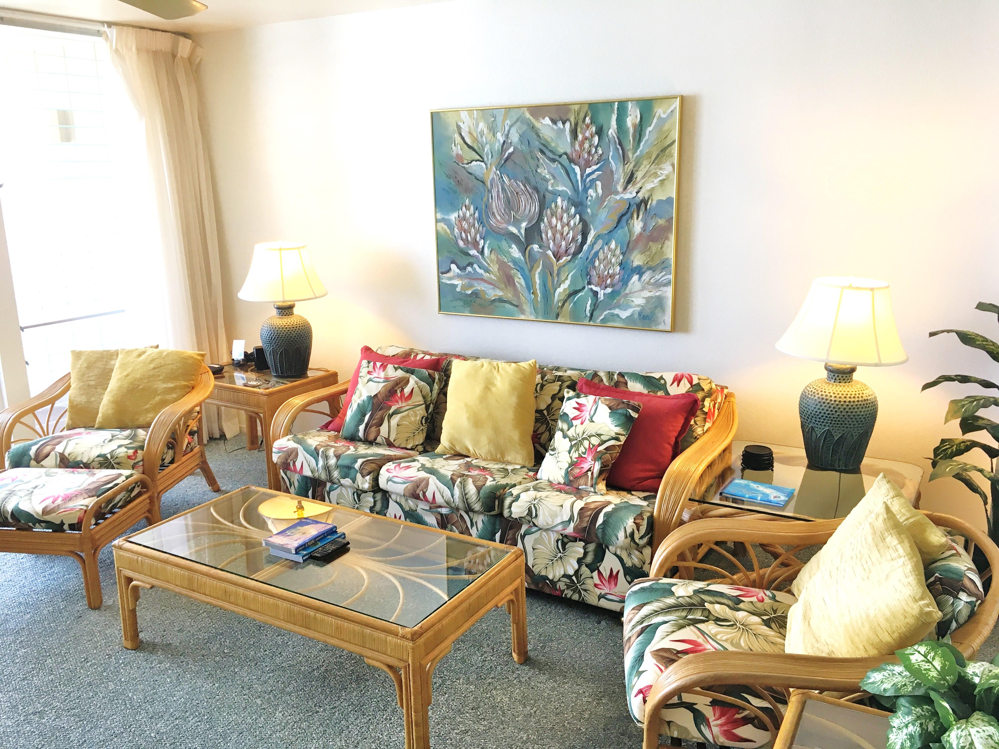 One Bedroom condo on Kauai East Coast