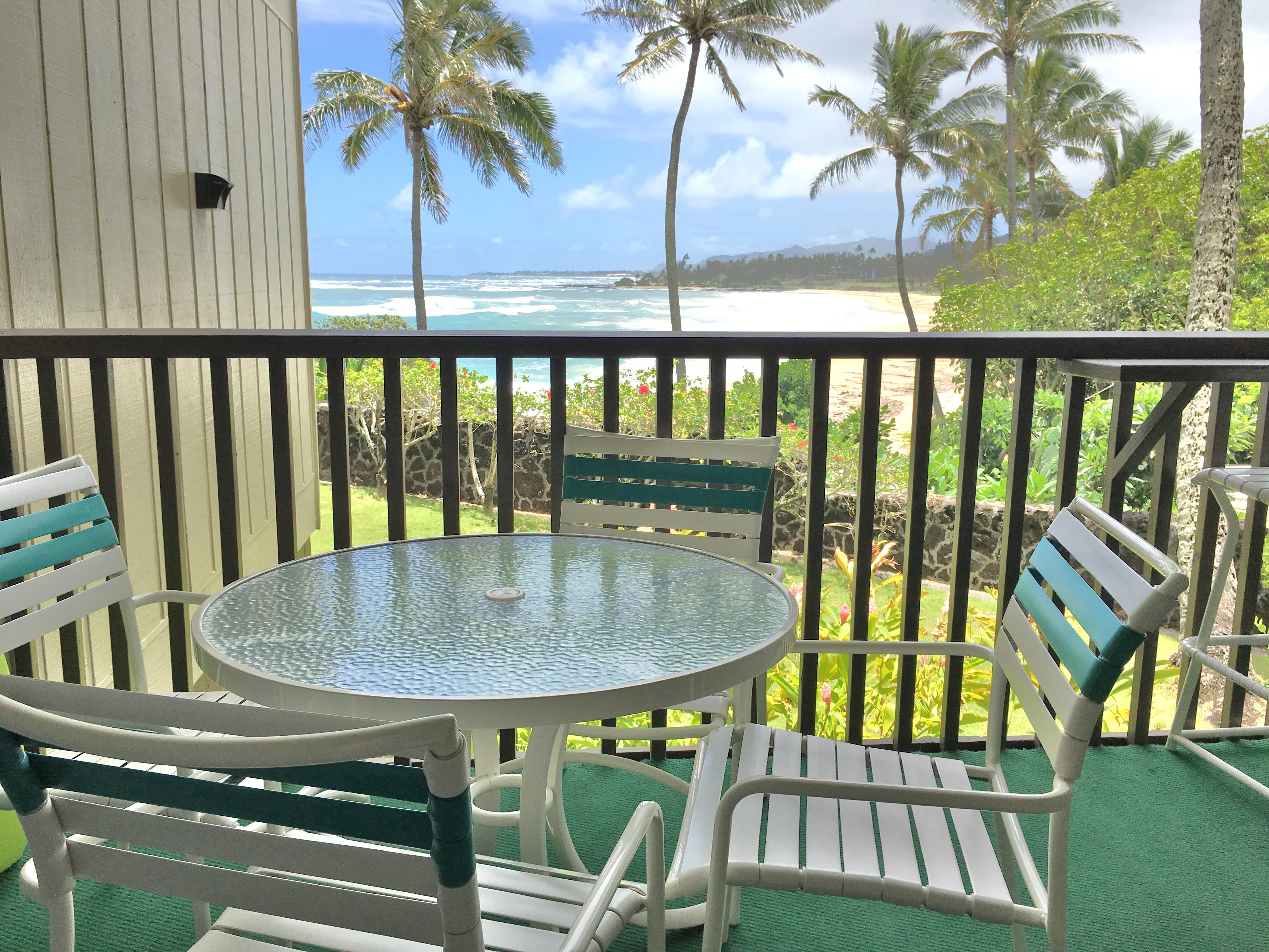 Ocean View from Wailua Bay View 103