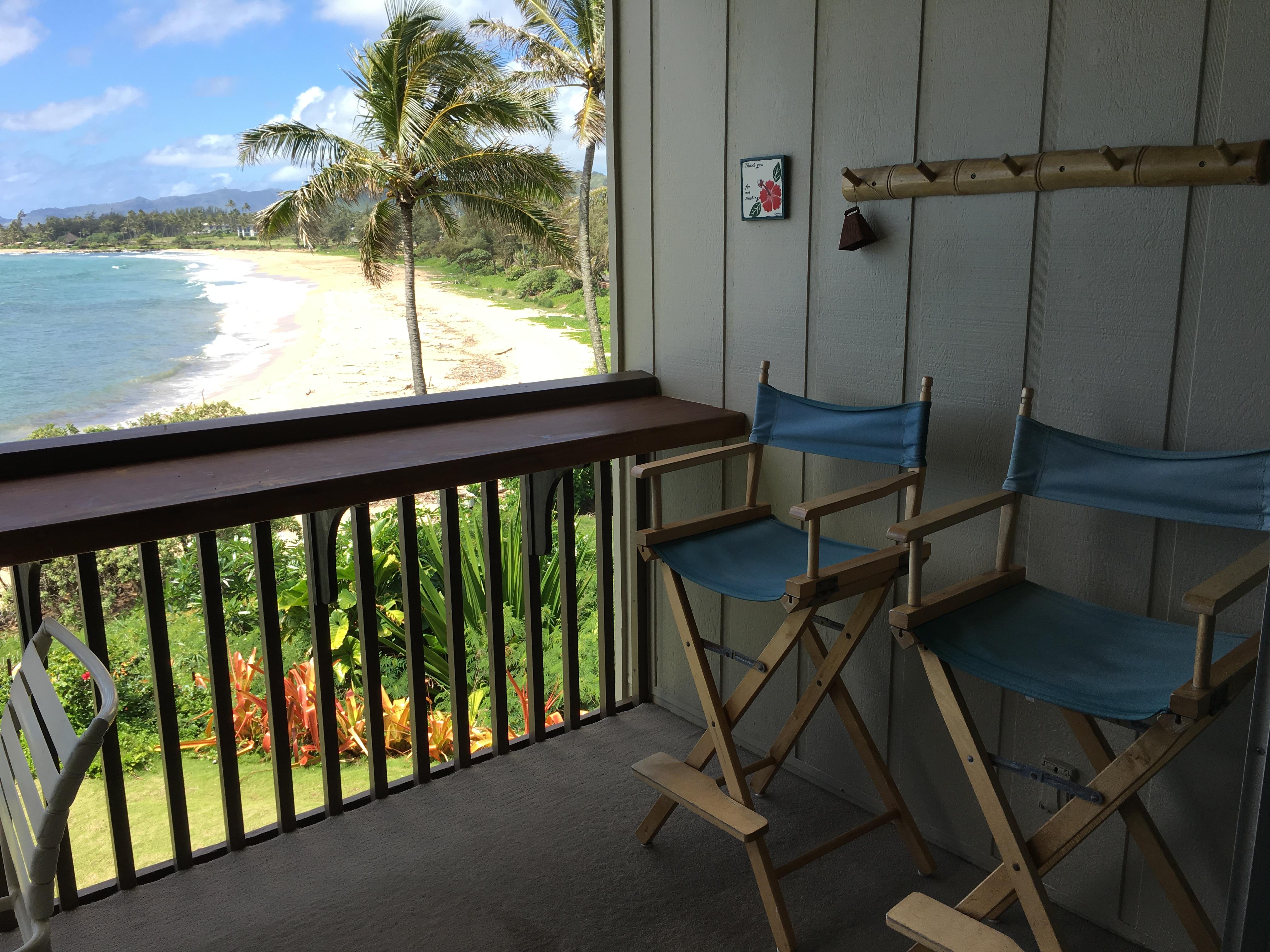 Comfortable patio chairs for Wailua Bay View 206