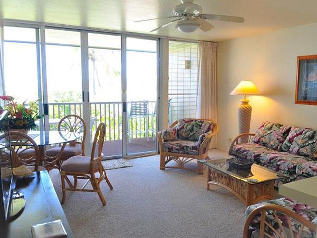 Living Room - Condo 105