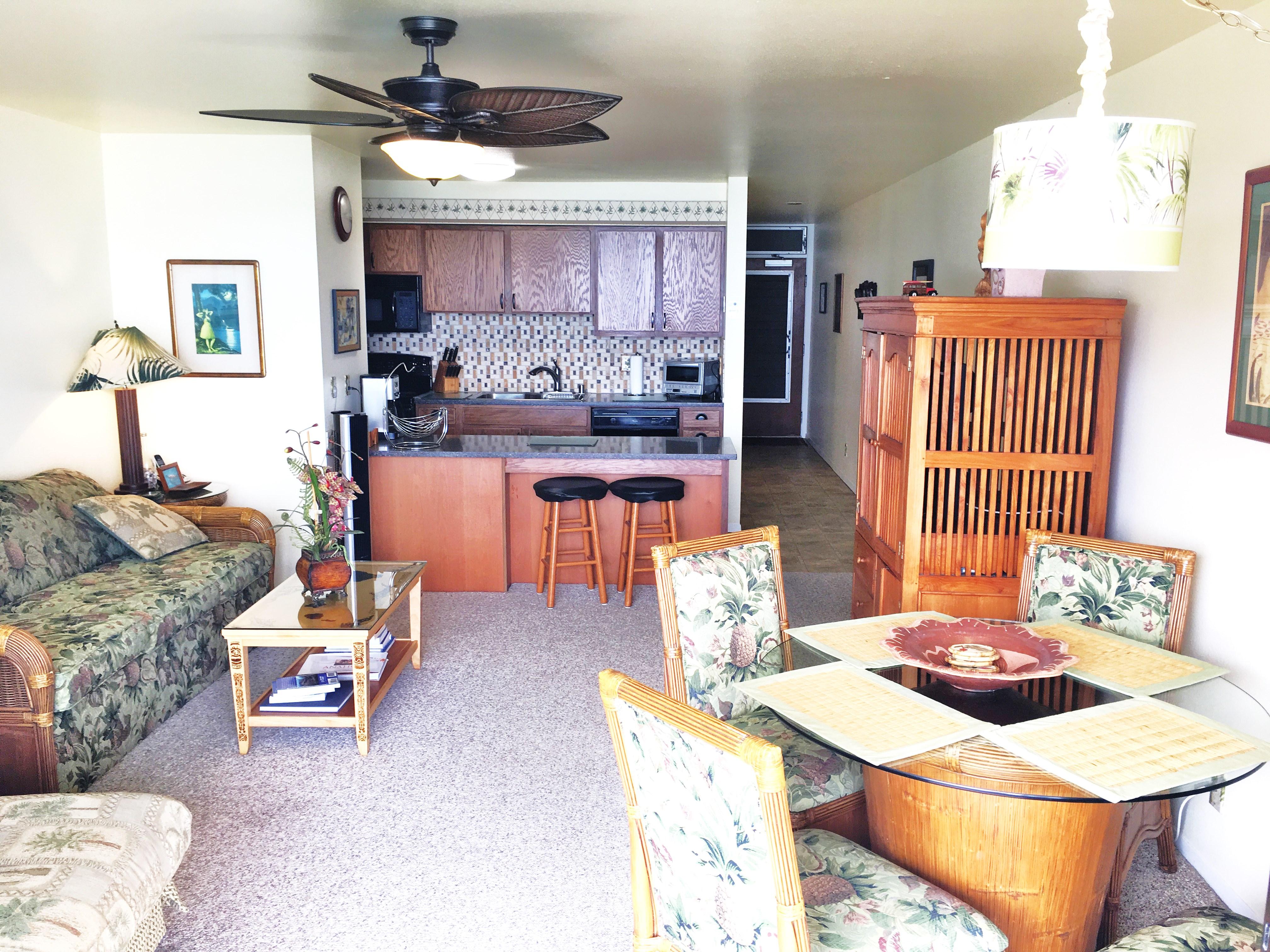 One Bedroom Condo 107 at Wailua Bay View