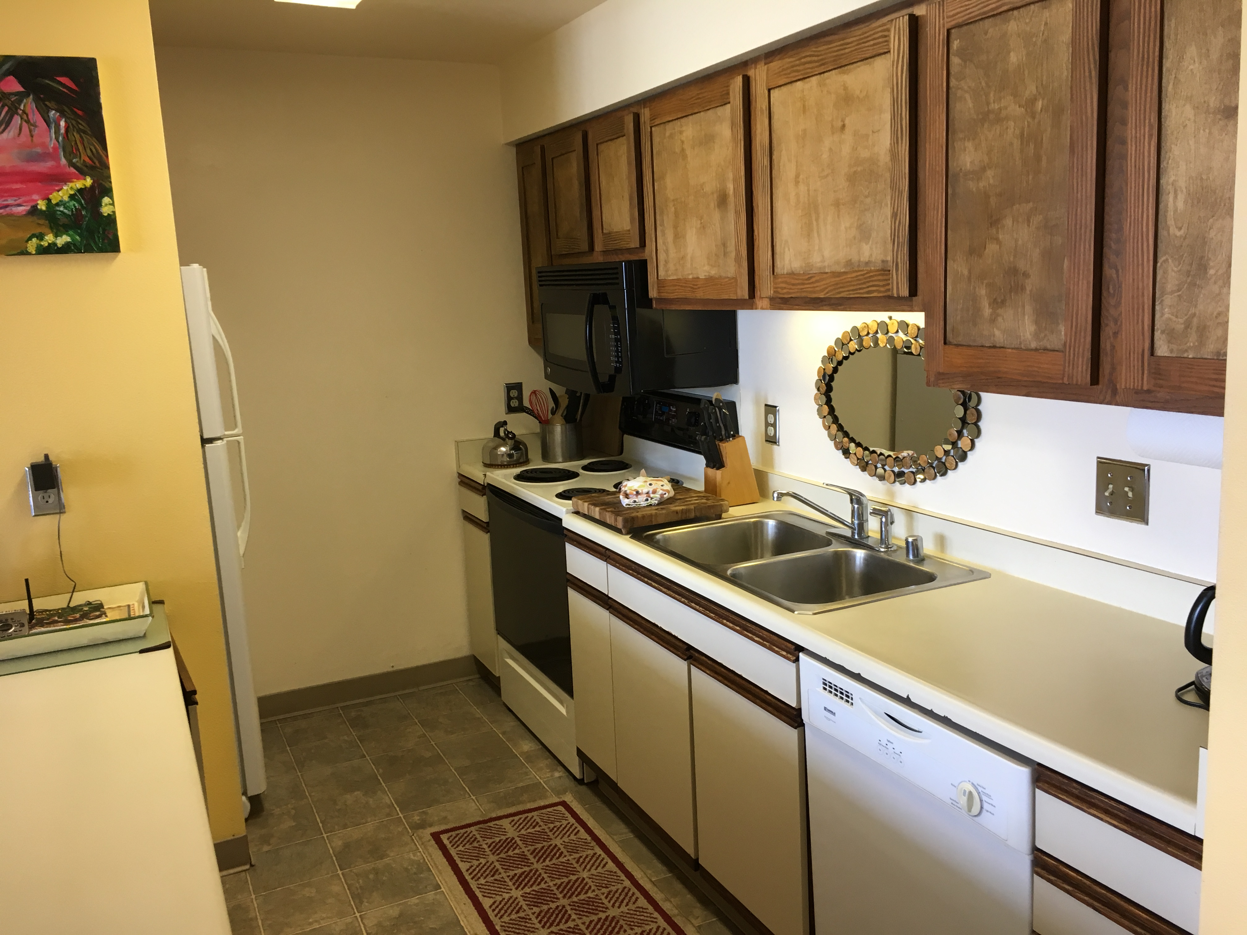 Kitchen - Condo 113