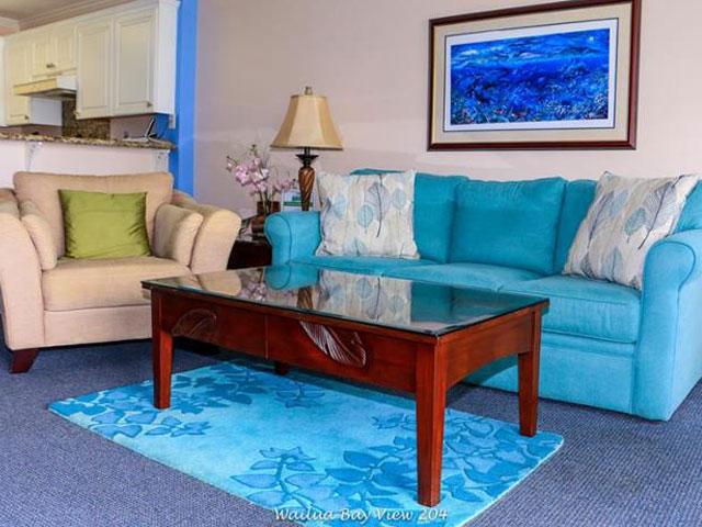 Living Room - Condo 204