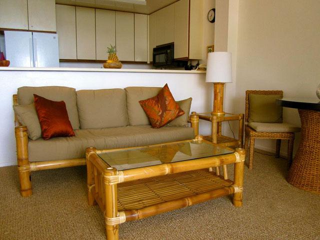 Living Room - Condo 206