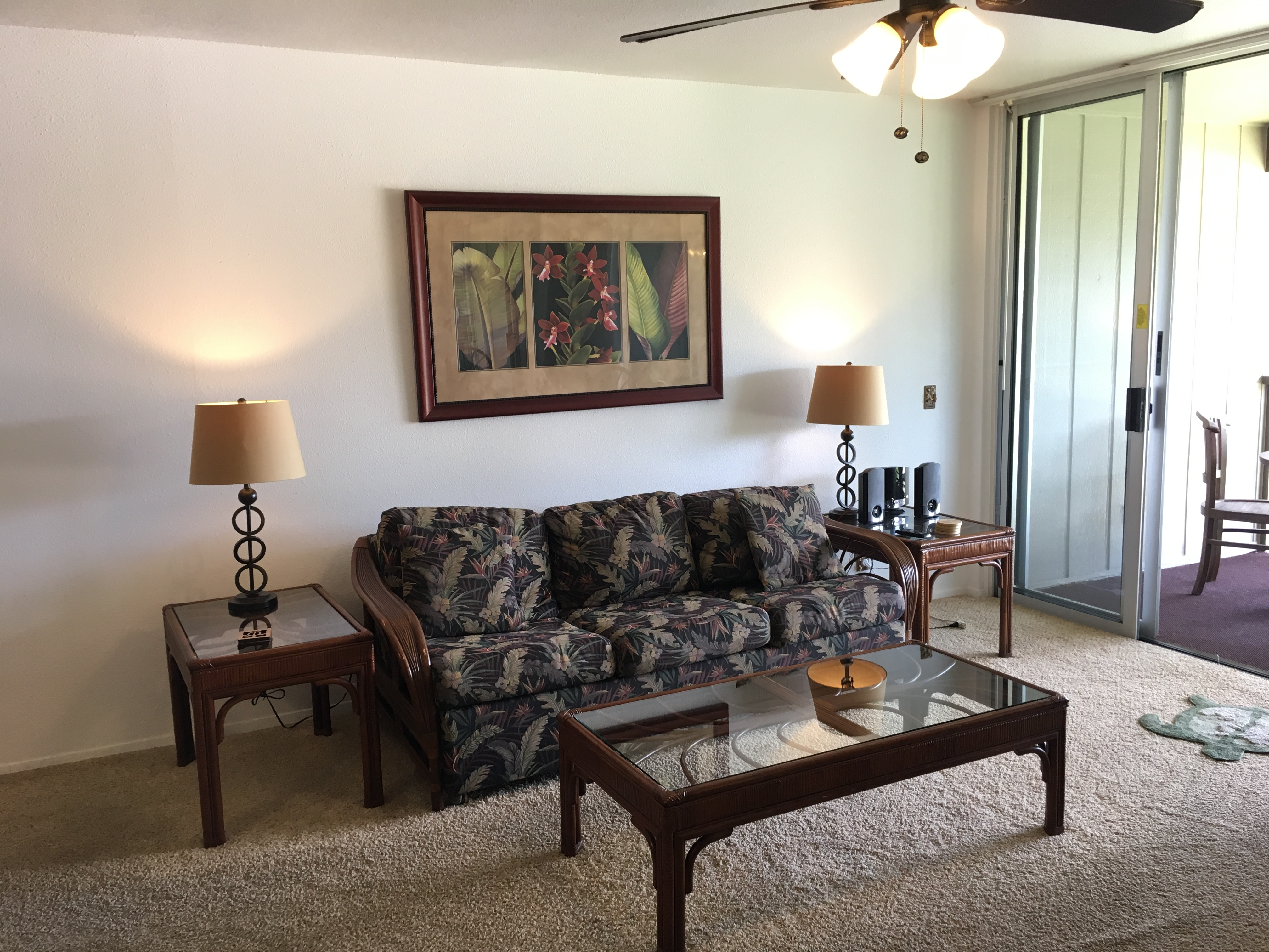 Kapaa one-bedroom condo with ocean view