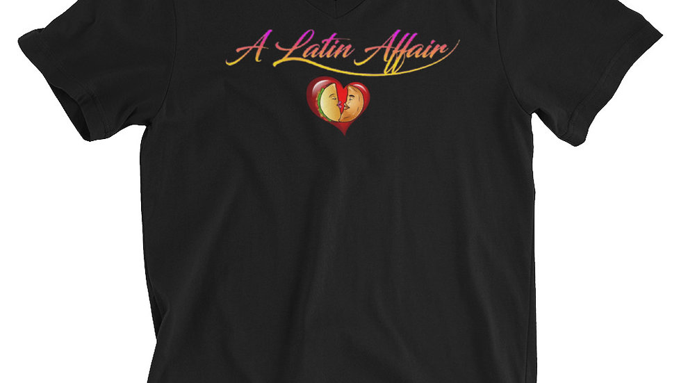 Latin Affair Unisex Short Sleeve V-Neck T-Shirt