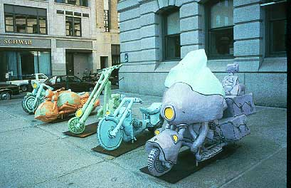 JP Jacquet, Harley Haven, 1998, In Front Of Providence City Hall
