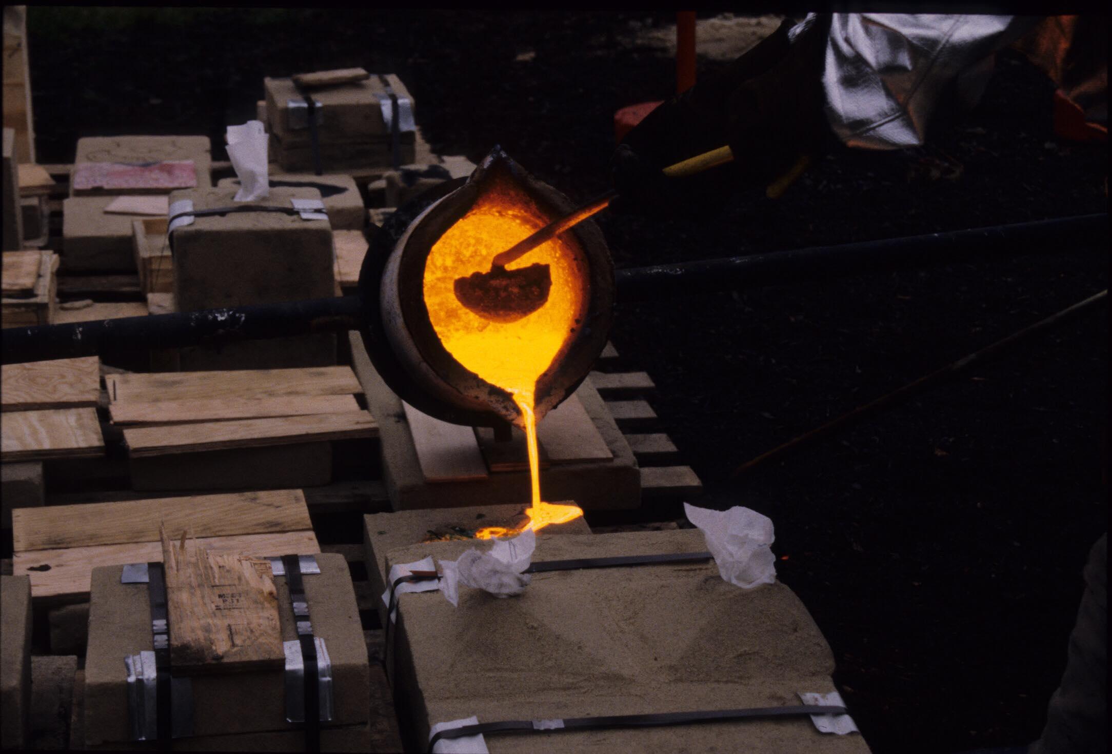 Iron Pour 1998
