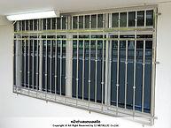 หน้าต่างสแตนเลสดัด เกรด 304 รับผลิตงานสแตนเลสตามต้องการ - ซีเจ