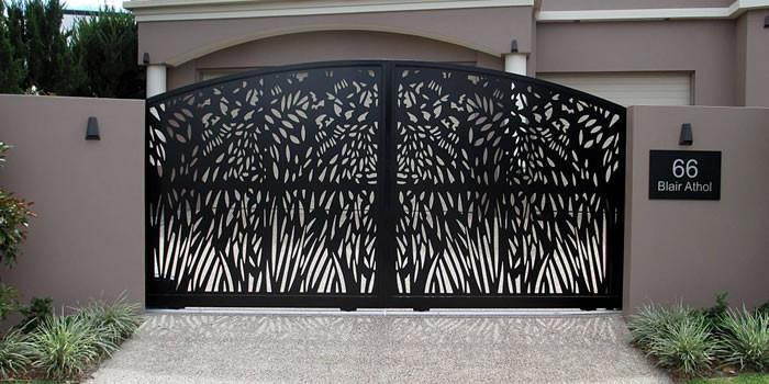 ประตูรั้วบานสวิง