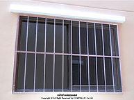 หน้าต่างสแตนเลส เกรด 304 รับผลิตงานสแตนเลสตามต้องการ - ซีเจ
