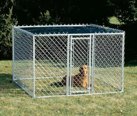 กรงสุนัข ทำจากตะข่าย แข็งแรง ทนทาน - ซีเจ เมทัลลิค