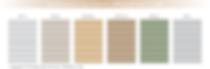 สีของประตูม้วนสมูท 6 เฉดสี สวยงาม เลือกได้ตามต้องการ - ซีเจ เมทัลลิค