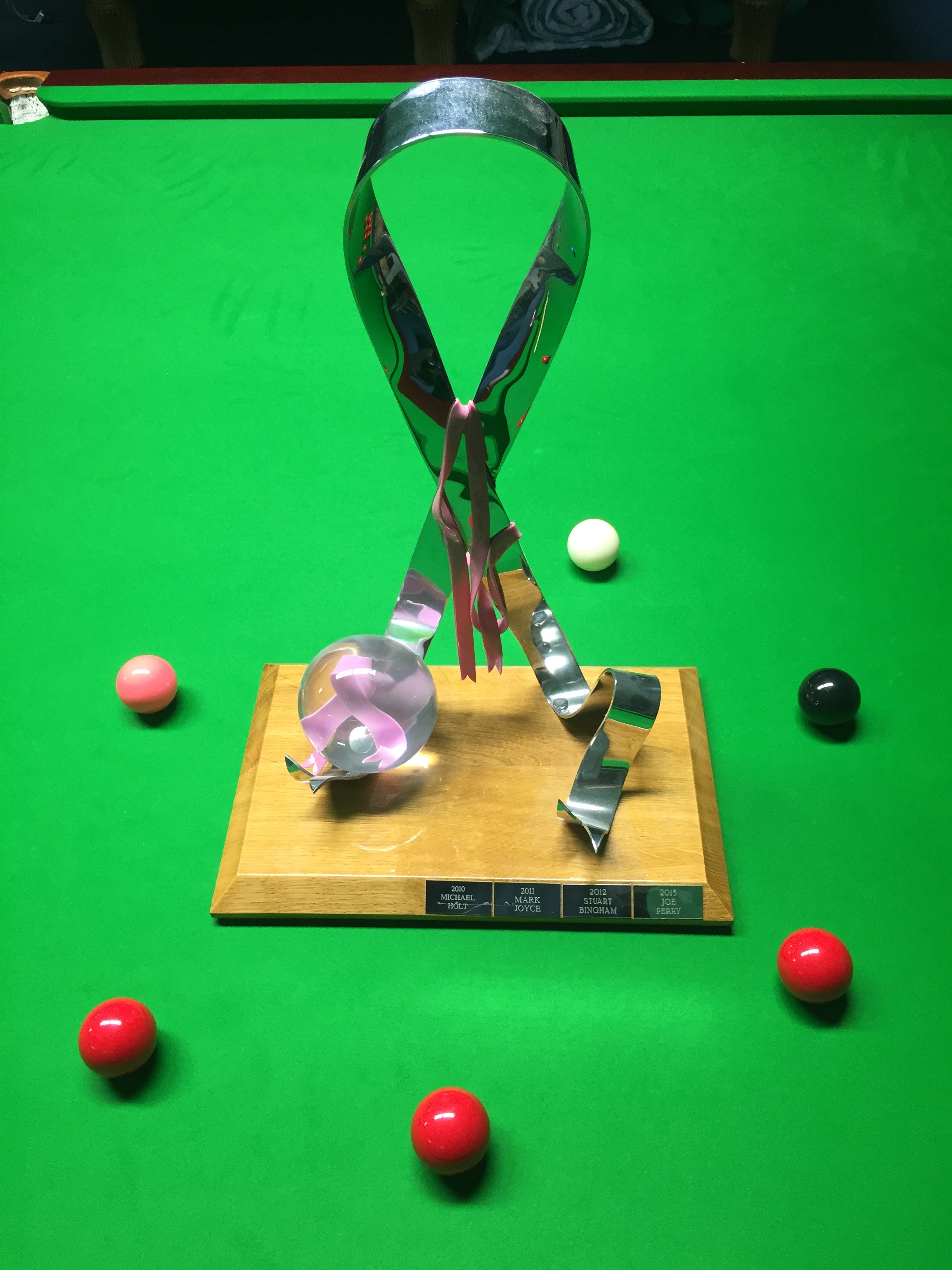 The Pink Ribbon Trophy