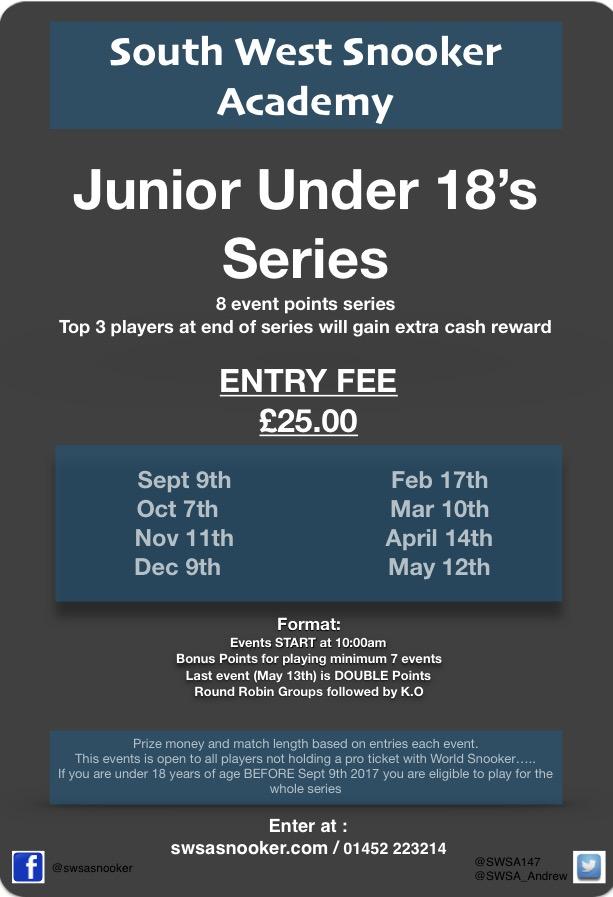 Under 18 Series Info