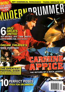 Modern Drummer - April 2007