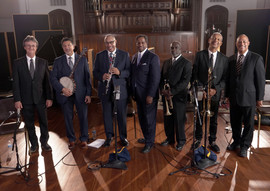 Dr. Michael White with band.jpg