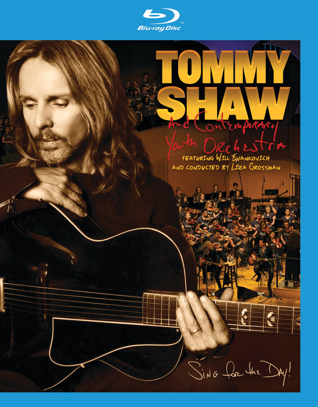 Tommy Shaw and The Contemporary Youth Orchestra - Sing For The Day! CD