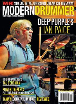 Modern Drummer - October 2014