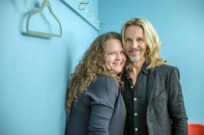 Liza Grossman (conductor) and Tommy Shaw